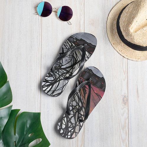 Flip-Flops abstract design