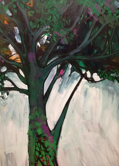 Tree (study 010) will need framing