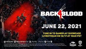 WARNER BROS. GAMES REVEALS BACK 4 BLOOD FROM AWARD-WINNING TURTLE ROCK STUDIOS
