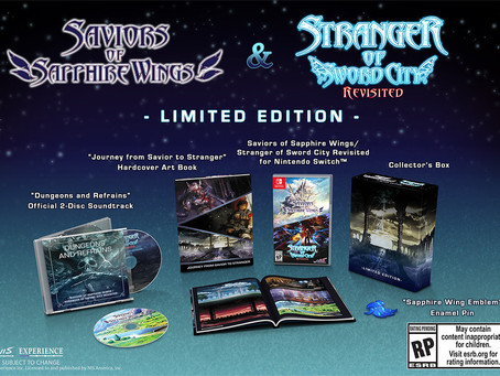 Saviors of Sapphire Wings / Stranger of Sword City Revisited releases in March 2021!