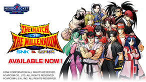 Starting today, SNK VS. CAPCOM: THE MATCH OF THE MILLENNIUM is available for download on the...