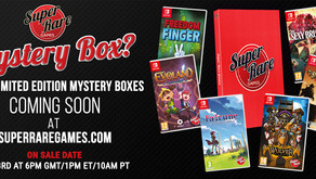 Complete your Super Rare Games physical collection with the 2020 Mystery Box! ❓🎁
