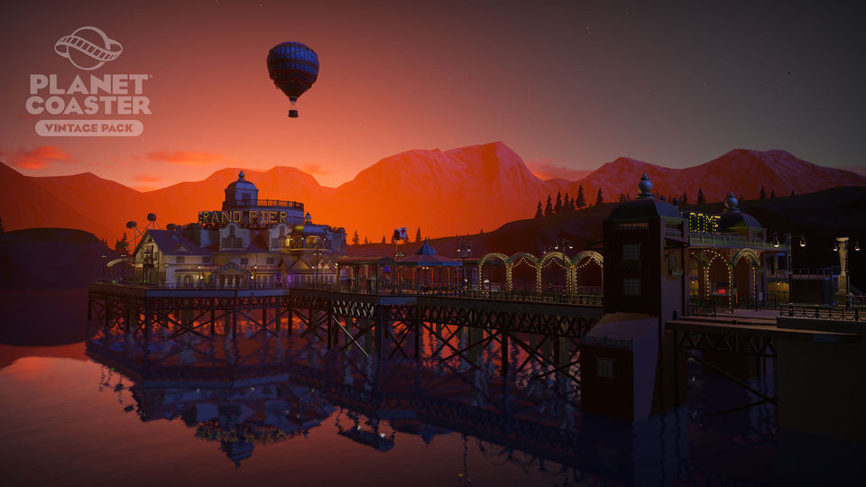 The Vintage Pack DLC for Planet Coaster is now available for download.