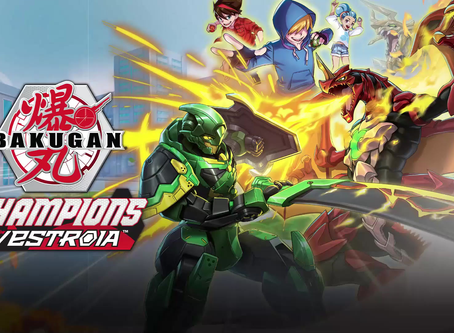 Bakugan: Champions of Vestroia. Welcomes the Return of the Legendary Leonidas