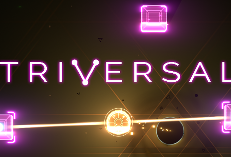 Dazzling Neon Hues and a Chill Soundtrack Await in Lax Puzzler Triversal — Coming Soon (PC)
