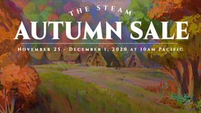 Steam Autumn Sale & 2020 Steam Awards Nominations On Now