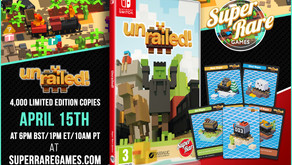 Chaotic online & couch co-op game Unrailed! gets a physical Switch release next week!