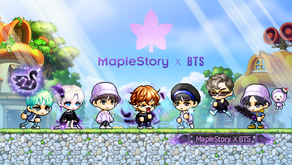 BTS MapleStory Designed Items Fully Revealed Today!