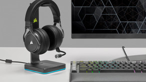 Incredible Sound, Impeccable Clarity – CORSAIR Launches VIRTUOSO RGB Wireless XT Gaming Headset