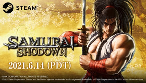 Weapon-based fighter SAMURAI SHODOWN steps into the ring on Steam on June 14th