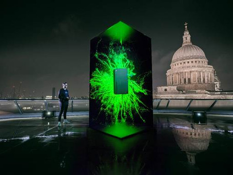 Xbox takes to the London skyline to launch the next generation of consoles