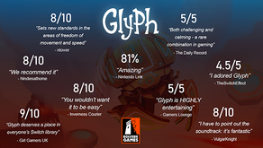 This summer, Bolverk Games' acclaimed 3D jumping platformer, Glyph, leaps from Nintendo Switch to PC