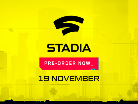 Cyberpunk 2077 coming to Stadia on November 19th! Pre-orders start now!