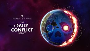 FIRST STRIKE nuclear strategy game for iOS and Android launches DAILY CONFLICTS