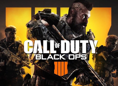 Call of Duty: Black OPS IIII is almost upon us...