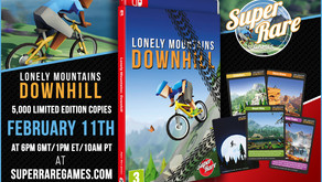 Indie cult hit biking game Lonely Mountains: Downhill gets a physical Switch release next week!
