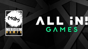 All in! Games and Meridiem Games Announce New Publishing and Distribution Partnership