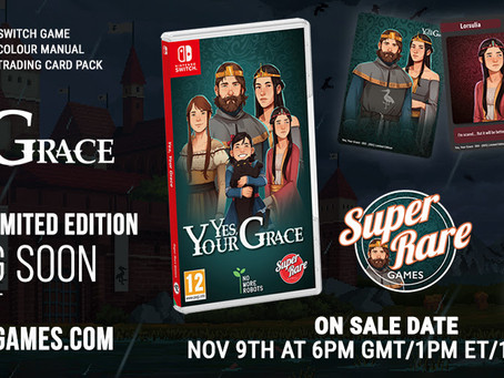 Kingdom management RPG Yes, Your Grace gets a royal physical Switch release this week!