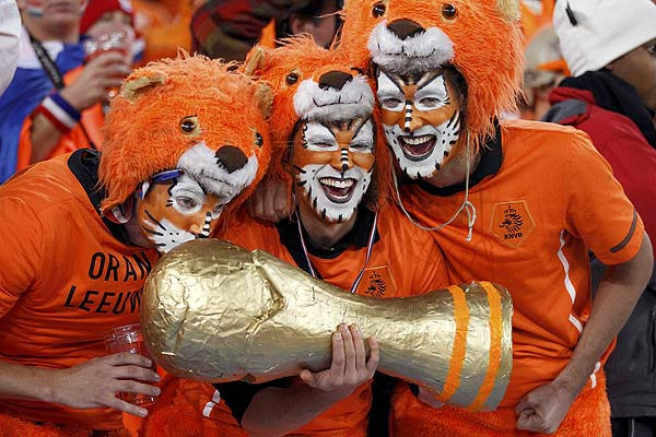 Dutch football fans