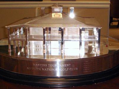 Masters Golf Trophy Replica