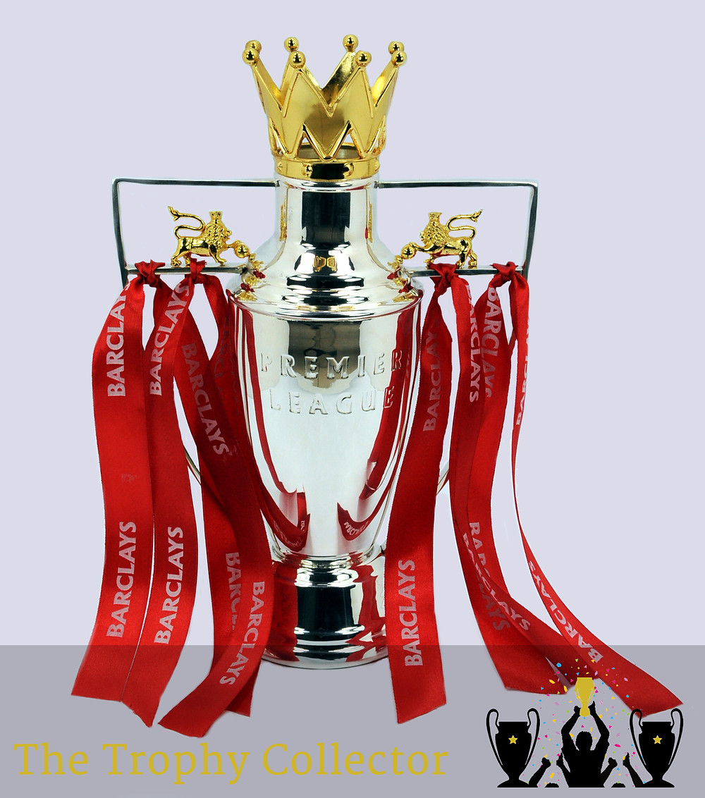 Premier League Silver Plate Trophy - 12.5""