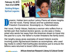 Haitian Born Author Lahiny Pierre Shares Two Bold Books