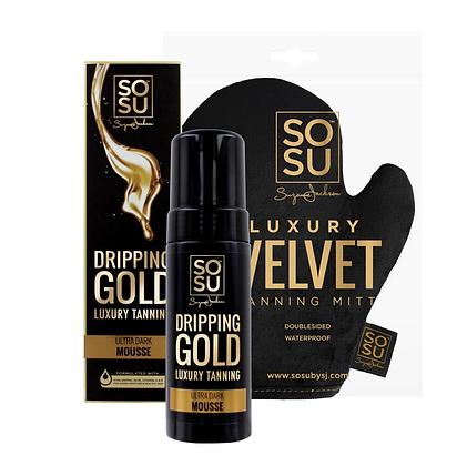 SoSu Ultra Dark Mousse & Velvet Tanning Mitt