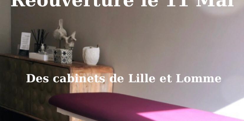 Réouverture cabinet d'Ostéopathie Lille