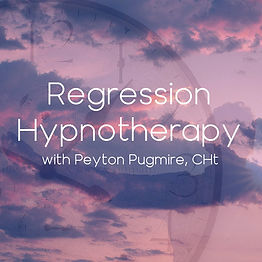 Regression Hypnotherapy with Peyton Pugmire - Marblehead, Massachusetts
