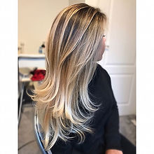 Blondie 😍😍 Balayage to the root ✨ #hair #haircut #hairpost #hairstyles #haircolor #hairstylist #ba