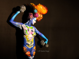 2016 International Body Paint Festival: Daegu, South Korea