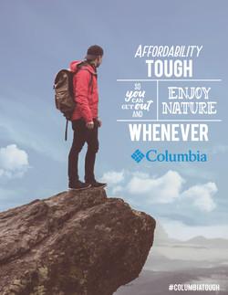 Columbia Print Advertisement