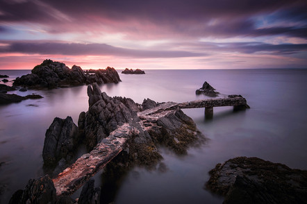 'Broken Pier' by Roger Eager - Accepted