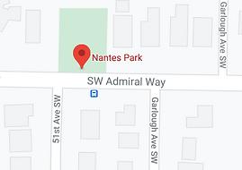 Nantes Park, map