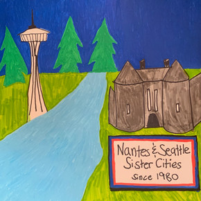 Nantes Park Tiles, Seattle students 10.j