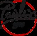Logo Cerchio Nero Rosso Scelte di vite c