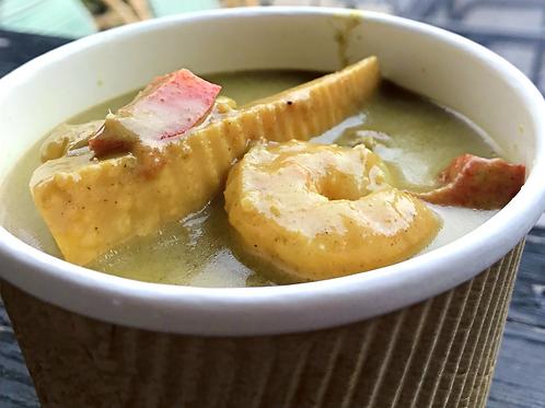 Shrimp Coconuts Curry (w/ no rice) <10>