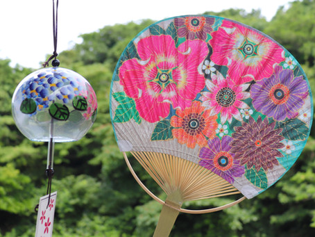 鎌倉市観光協会「納涼うちわ」チャリティーバージョンも発売中