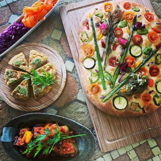Garden Dinner Set