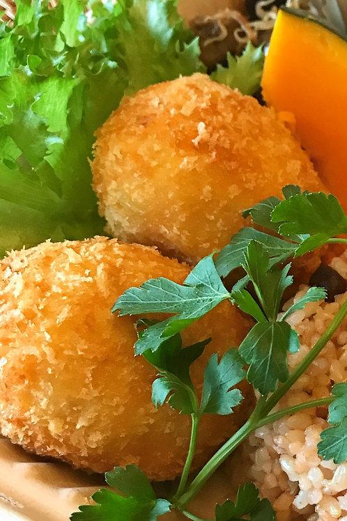 Potato & Cod Croquette (3 pieces) <10>
