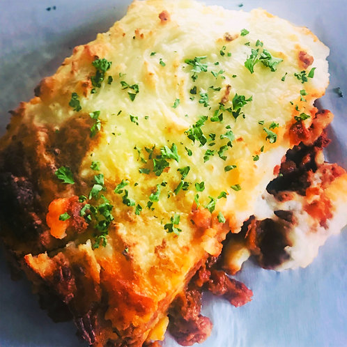 Potato Beef Gratin (serves 2)