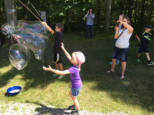 Giant Bubble Challenge