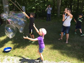Giant Bubble Challenge