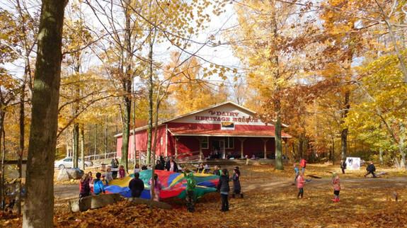Fall Parachute Fun