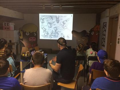 Cartoon Creation Session