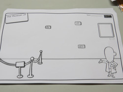 Build your own museum drawing