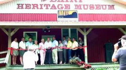 Dairy Heritage ribbon cutting