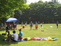 Summer Camp Parachute Group