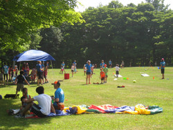 Summer Camp Parachute Group