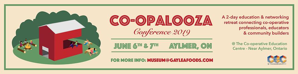 Co-opalooza 2019 website banner Event Pa